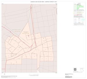 Primary view of object titled '2000 Census County Subdivison Block Map: Corpus Christi CCD, Texas, Inset B01'.