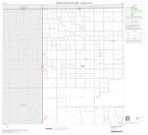Primary view of object titled '2000 Census County Subdivison Block Map: Tahoka CCD, Texas, Block 1'.