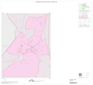 Primary view of object titled '2000 Census County Subdivison Block Map: Buna CCD, Texas, Inset A01'.