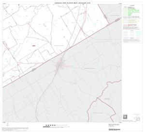 Primary view of object titled '2000 Census County Subdivison Block Map: Reagan CCD, Texas, Block 4'.