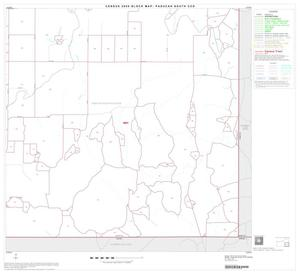 Primary view of object titled '2000 Census County Subdivison Block Map: Paducah South CCD, Texas, Block 6'.