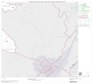 Primary view of object titled '2000 Census County Subdivison Block Map: Dripping Springs-Wimberley CCD, Texas, Block 11'.
