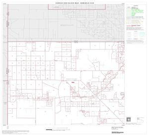 Primary view of object titled '2000 Census County Subdivison Block Map: Seminole CCD, Texas, Block 1'.