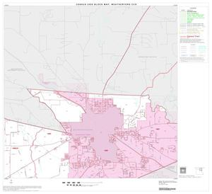 Primary view of object titled '2000 Census County Subdivison Block Map: Weatherford CCD, Texas, Block 3'.