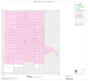 Primary view of object titled '2000 Census County Subdivison Block Map: Morton CCD, Texas, Inset A01'.