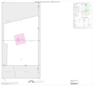 Primary view of object titled '2000 Census County Subdivison Block Map: Hermleigh CCD, Texas, Index'.
