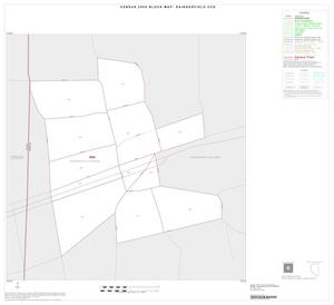 Primary view of object titled '2000 Census County Subdivison Block Map: Daingerfield CCD, Texas, Inset A01'.