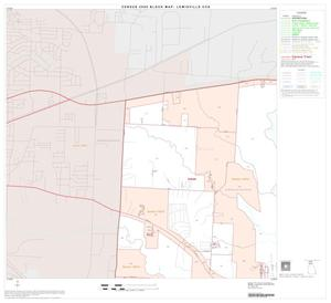 Primary view of object titled '2000 Census County Subdivison Block Map: Lewisville CCD, Texas, Block 1'.