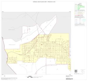 Primary view of object titled '2000 Census County Subdivison Block Map: Presidio CCD, Texas, Inset A03'.