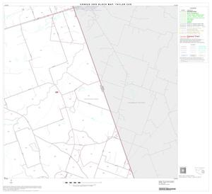 Primary view of object titled '2000 Census County Subdivison Block Map: Taylor CCD, Texas, Block 8'.