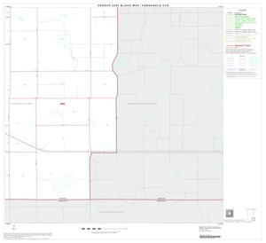 Primary view of object titled '2000 Census County Subdivison Block Map: Panhandle CCD, Texas, Block 12'.