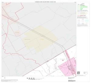 Primary view of object titled '2000 Census County Subdivison Block Map: Rice CCD, Texas, Block 1'.