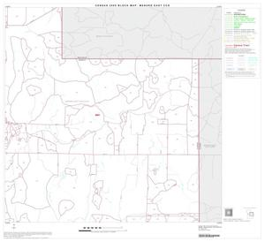 Primary view of object titled '2000 Census County Subdivison Block Map: Menard East CCD, Texas, Block 4'.