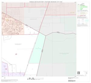 Primary view of object titled '2000 Census County Subdivison Block Map: Stafford-Missouri City CCD, Texas, Block 5'.