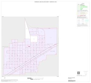 Primary view of object titled '2000 Census County Subdivison Block Map: Rankin CCD, Texas, Inset A01'.