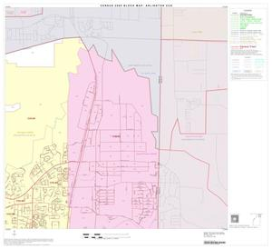 Primary view of object titled '2000 Census County Subdivison Block Map: Arlington CCD, Texas, Block 3'.