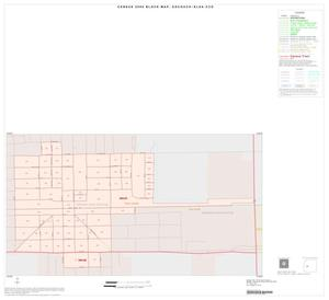 Primary view of object titled '2000 Census County Subdivison Block Map: Edcouch-Elsa CCD, Texas, Inset B01'.