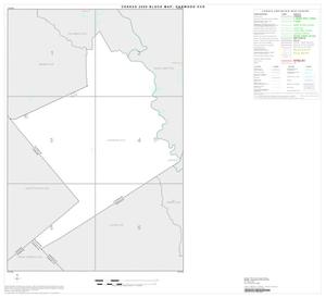 Primary view of object titled '2000 Census County Subdivison Block Map: Garwood CCD, Texas, Index'.