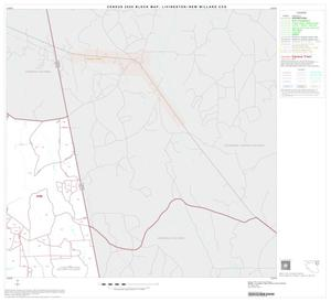 Primary view of object titled '2000 Census County Subdivison Block Map: Livingston-New Willard CCD, Texas, Block 5'.