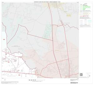 Primary view of object titled '2000 Census County Subdivison Block Map: Montgomery CCD, Texas, Block 7'.