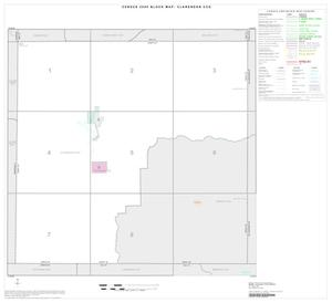Primary view of object titled '2000 Census County Subdivison Block Map: Clarendon CCD, Texas, Index'.