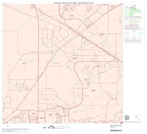 Primary view of object titled '2000 Census County Subdivison Block Map: Southwest CCD, Texas, Block 8'.