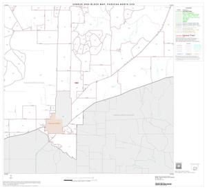 Primary view of object titled '2000 Census County Subdivison Block Map: Paducah North CCD, Texas, Block 5'.