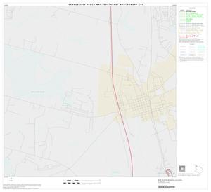 Primary view of object titled '2000 Census County Subdivison Block Map: Southeast Montgomery CCD, Texas, Block 1'.