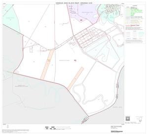 Primary view of object titled '2000 Census County Subdivison Block Map: Orange CCD, Texas, Block 10'.