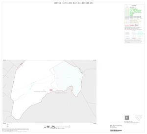 Primary view of object titled '2000 Census County Subdivison Block Map: Balmorhea CCD, Texas, Inset A06'.