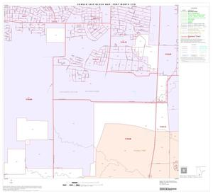 Primary view of object titled '2000 Census County Subdivison Block Map: Fort Worth CCD, Texas, Block 59'.