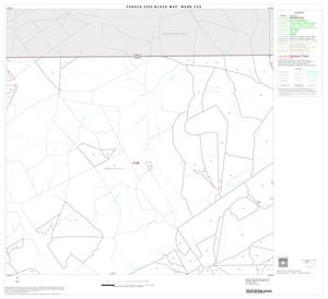Primary view of object titled '2000 Census County Subdivison Block Map: Webb CCD, Texas, Block 3'.
