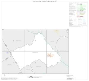 Primary view of object titled '2000 Census County Subdivison Block Map: Groesbeck CCD, Texas, Index'.