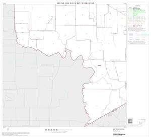 Primary view of object titled '2000 Census County Subdivison Block Map: Gorman CCD, Texas, Block 4'.