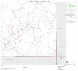 Primary view of object titled '2000 Census County Subdivison Block Map: Guthrie CCD, Texas, Block 9'.