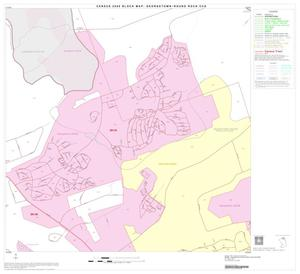Primary view of object titled '2000 Census County Subdivison Block Map: Georgetown-Round Rock CCD, Texas, Block 4'.
