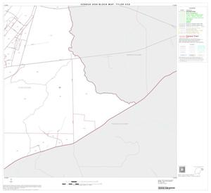 Primary view of object titled '2000 Census County Subdivison Block Map: Tyler CCD, Texas, Block 11'.