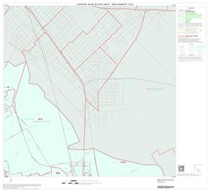Primary view of object titled '2000 Census County Subdivison Block Map: Southwest CCD, Texas, Block 24'.