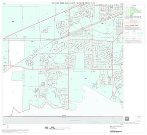 Primary view of object titled '2000 Census County Subdivison Block Map: Wichita Falls CCD, Texas, Block 16'.