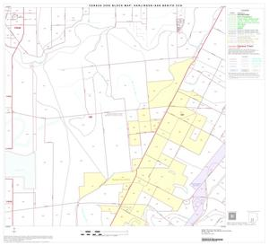 Primary view of object titled '2000 Census County Subdivison Block Map: Harlingen-San Benito CCD, Texas, Block 14'.