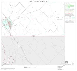 Primary view of object titled '2000 Census County Subdivison Block Map: Bowie CCD, Texas, Block 11'.