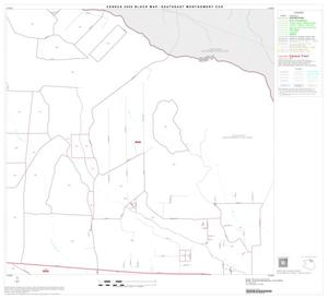 Primary view of object titled '2000 Census County Subdivison Block Map: Southeast Montgomery CCD, Texas, Block 9'.