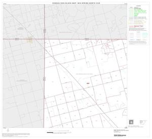 Primary view of object titled '2000 Census County Subdivison Block Map: Big Spring North CCD, Texas, Block 1'.