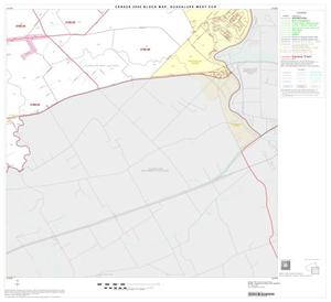 Primary view of object titled '2000 Census County Subdivison Block Map: Guadalupe West CCD, Texas, Block 4'.