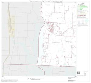 Primary view of object titled '2000 Census County Subdivison Block Map: Gainesville Southeast CCD, Texas, Block 3'.
