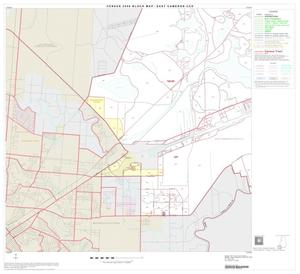 Primary view of object titled '2000 Census County Subdivison Block Map: East Cameron CCD, Texas, Block 8'.