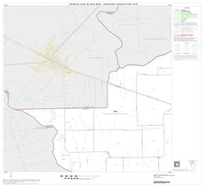 Primary view of object titled '2000 Census County Subdivison Block Map: Orchard-Kendleton CCD, Texas, Block 1'.