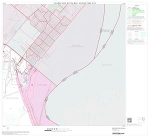 Primary view of object titled '2000 Census County Subdivison Block Map: Sabine Pass CCD, Texas, Block 3'.