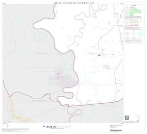 Primary view of object titled '2000 Census County Subdivison Block Map: Hardin-Rye CCD, Texas, Block 7'.