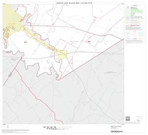 Primary view of object titled '2000 Census County Subdivison Block Map: Luling CCD, Texas, Block 9'.
